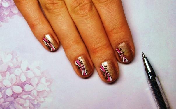 Рисунки на гелевые ногти
