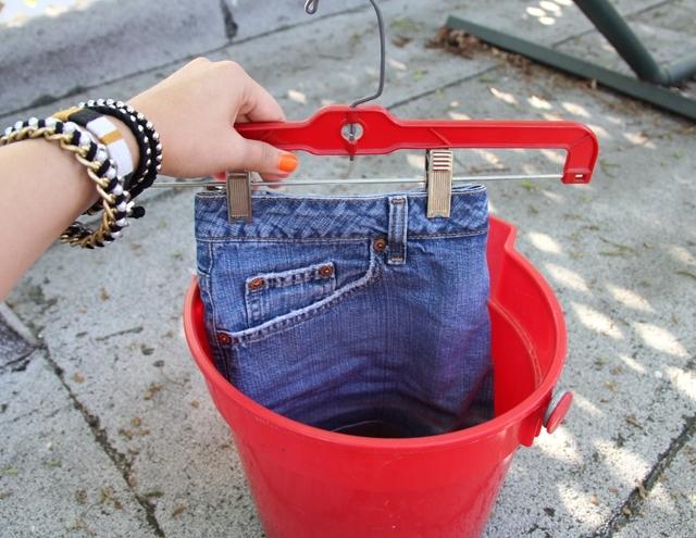 Как отбелить джинсы белизной, LS