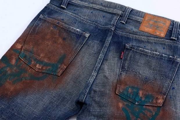 Как снять краску с джинс в домашних условиях 591