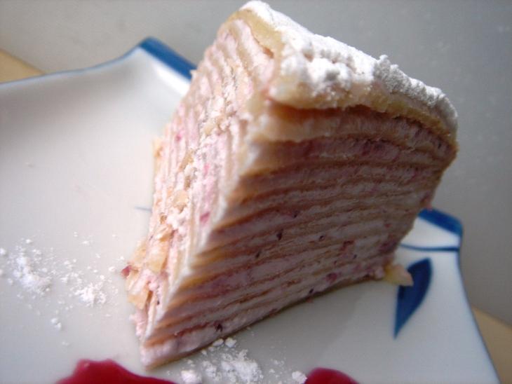 Блинный творожный торт рецепт с пошагово в домашних условиях