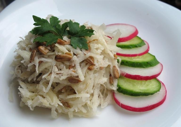 Салат из кольраби рецепты с фото