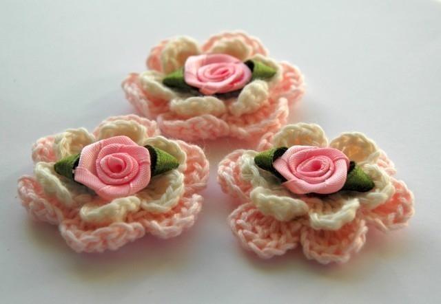 Для декорирования цветы