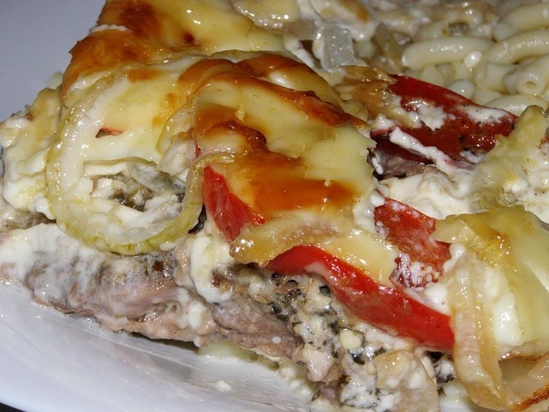 мясо индейки запеченное в духовке с сыром