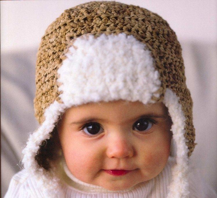 Вязание детской шапочки