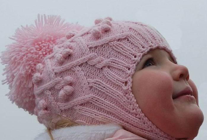 Вязание детских шапочек с
