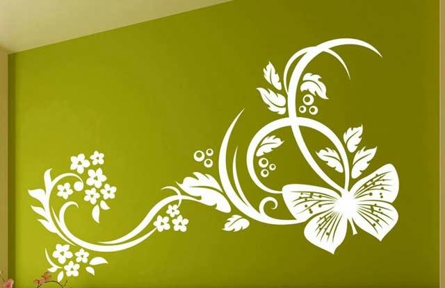 Трафареты для декора стен, мебели своими руками, шаблоны