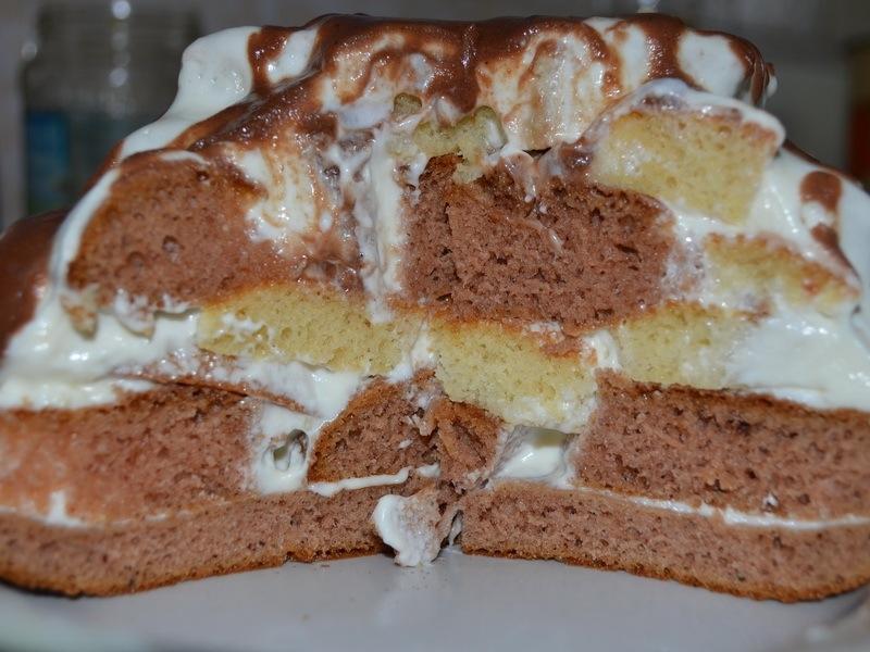 Рецепт торта графские развалины в домашних