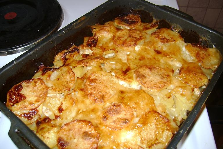 Рецепт горбуши запеченной с картошкой