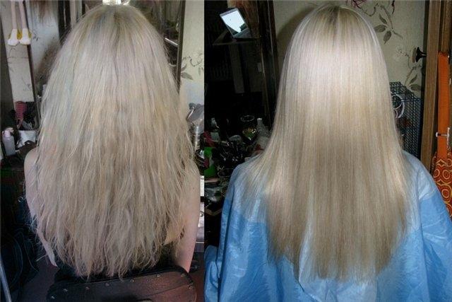 Экранирование волос как делать эстель