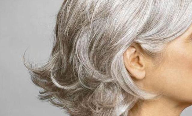 Окрашивание седых волос: способы