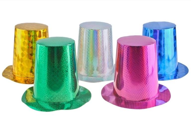Шляпа-цилиндр из бумаги