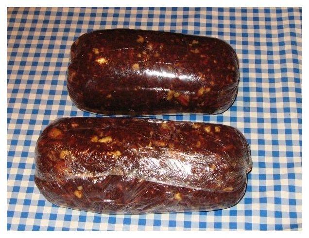 Ингредиенты для приготовления домашней колбасы