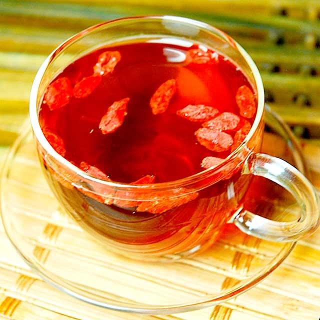 чай с ягодами годжи для похудения
