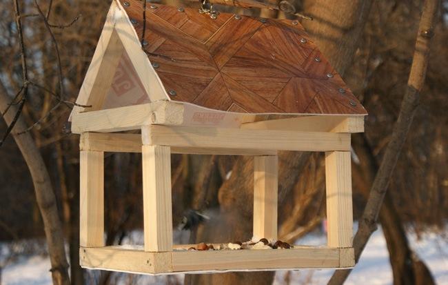 Кормушка для птиц пошаговое