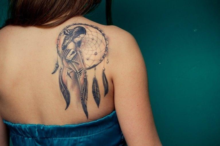 эскизы татуировок на лопатку: