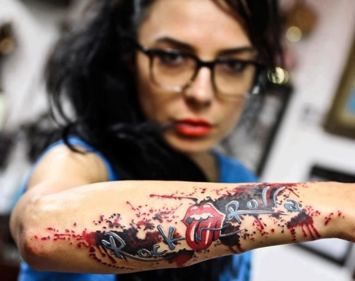 маленькие красивые татуировки на запястье для девушек