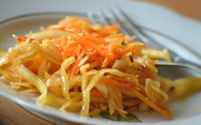 Маринованная капуста по-корейски: рецепт
