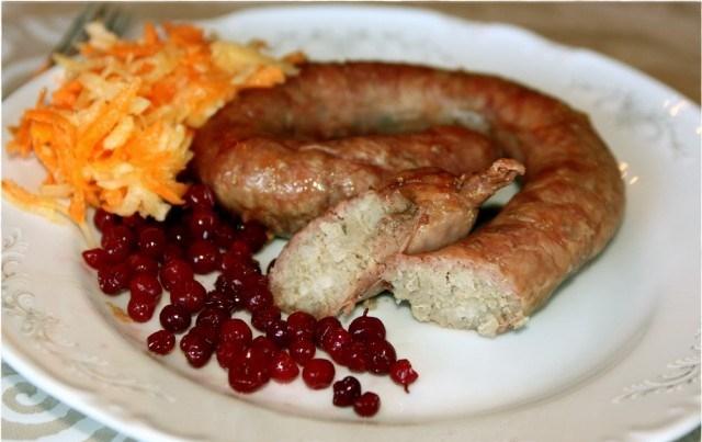 Куриная домашняя колбаса: рецепт