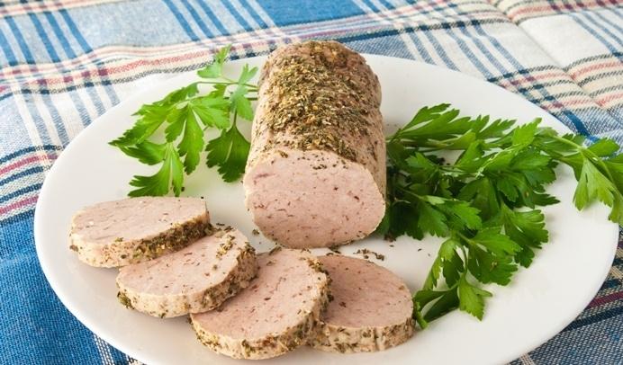 Домашняя колбаса из говядины