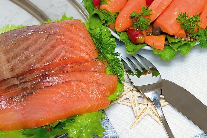 Рыба для роллов малосольная: рецепт