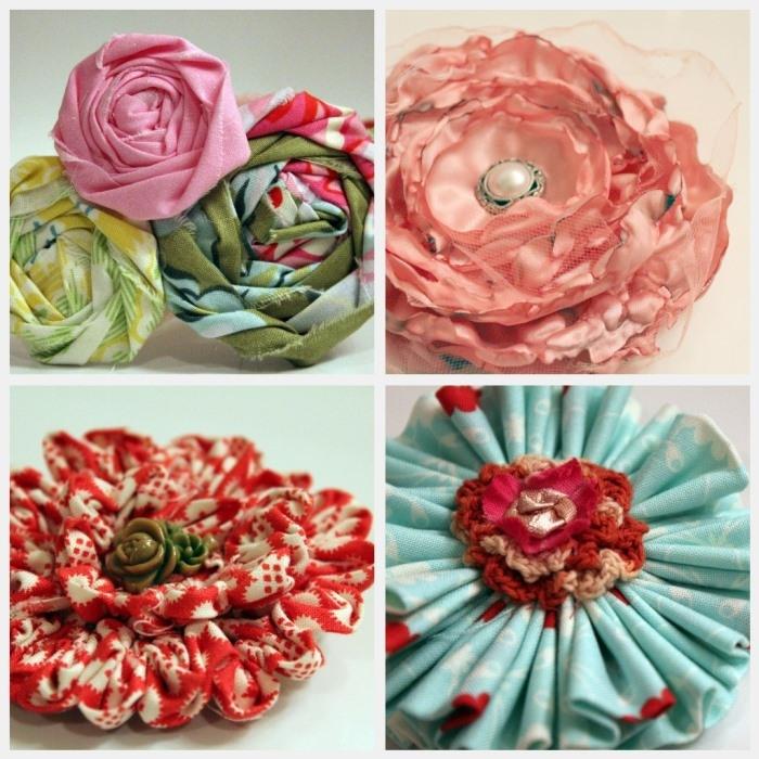 Украшение вазы искусственными цветами