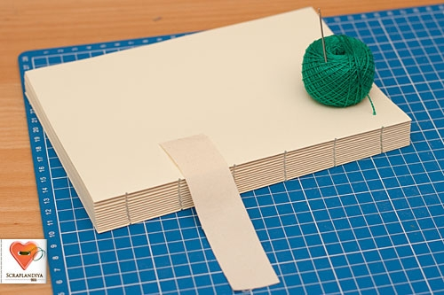 Блокнот мастер класс без сшивания