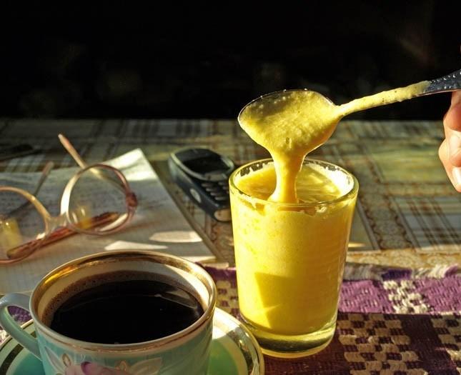 Кофейный гоголь-моголь: рецепт