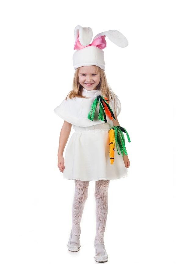 Как сшить костюм зайчика для девочки своими руками