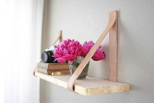 Простая полочка для цветов своими руками
