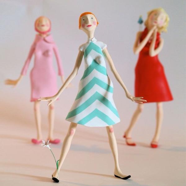 Как связать куклу спицами Своими руками 47