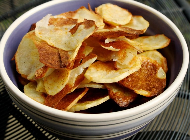 рецепты чипсов в домашних условиях в духовке