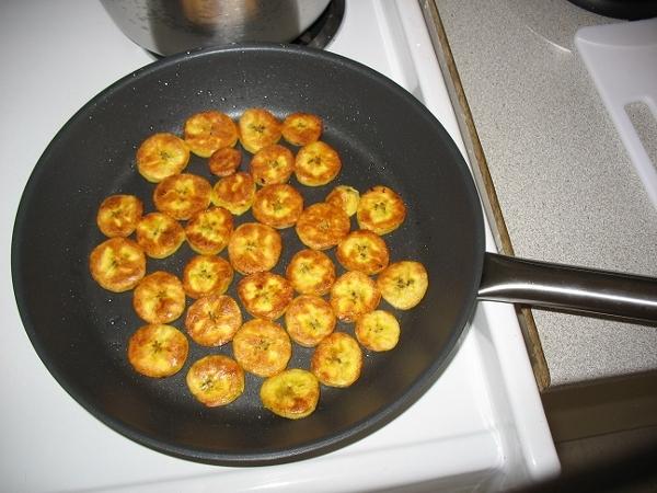 рецепты жареные бананы с фото