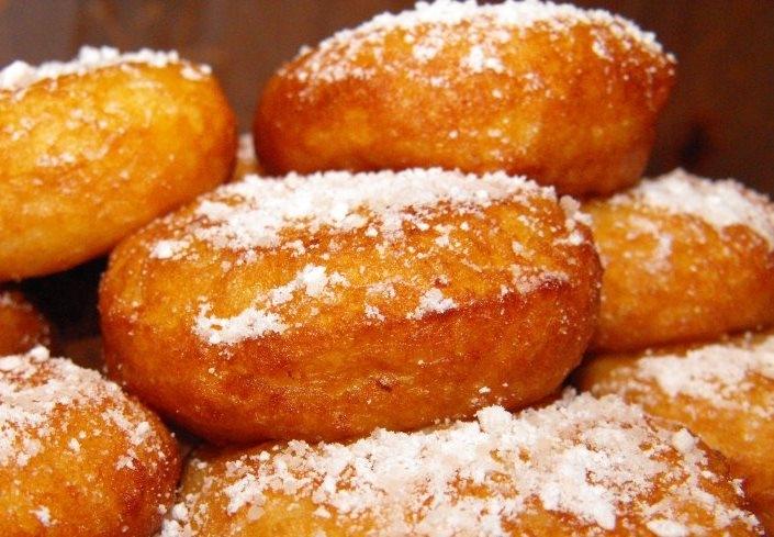 Пончики из творога во фритюре: рецепт