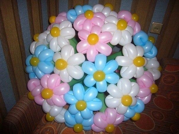 Фигуры из шаров своими руками