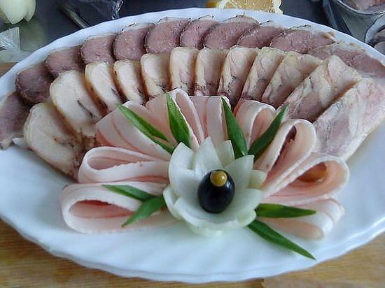 Красивое оформление блюд к столу