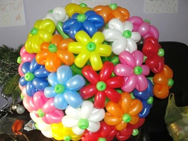 Как сделать фигуры из шаров