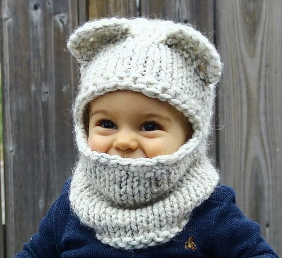 шапочка для мальчика как связать спицами Ls