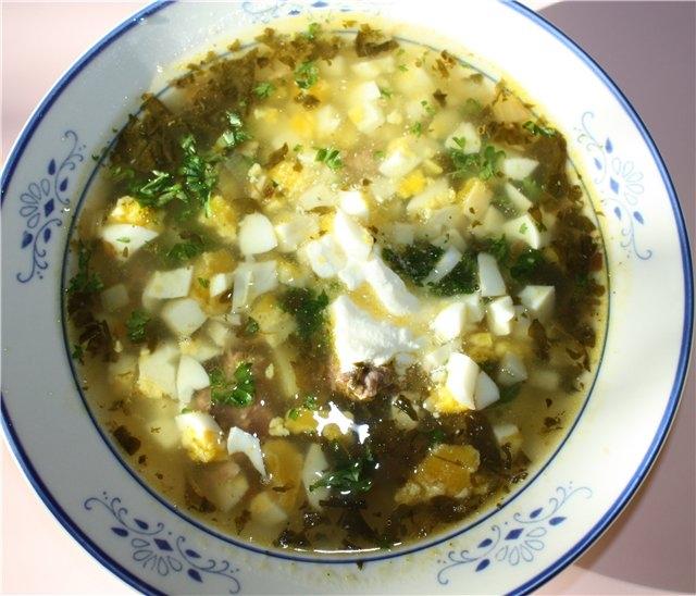 Щавелевый суп: рецепт. Как приготовить щавелевый суп? - LadySpecial.