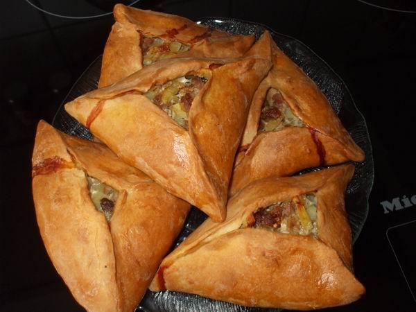 Татарские пирог с мясом и картошкой рецепт