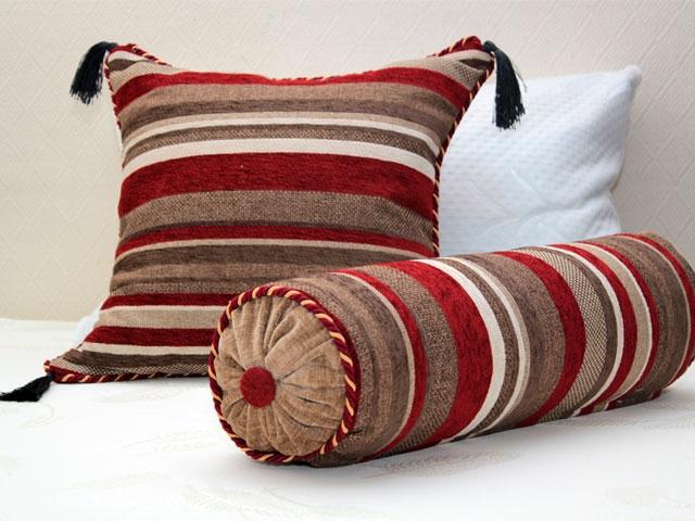 Как сшить подушку валик своими руками? Выкройки для разных 29