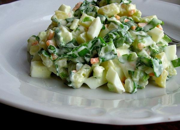 весенние салаты рецепты c фото