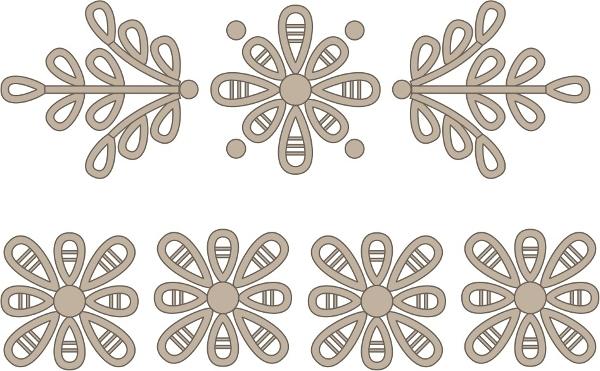 Вышивка ришелье: схемы и пошаговое описание