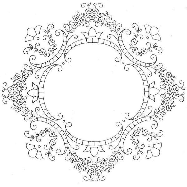 Вышивка ришелье: схемы и