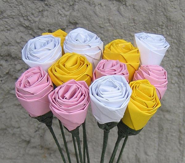 Как сделать оригами розу?