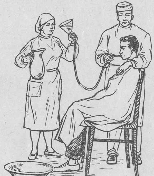 Промывание желудка: показания и противопоказания