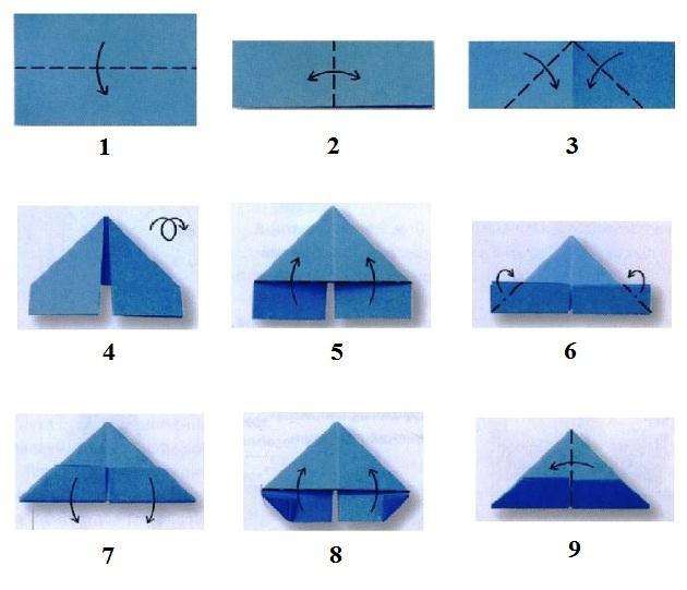 Например, для оригами заяц