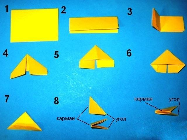 Как сделать модуль для оригами