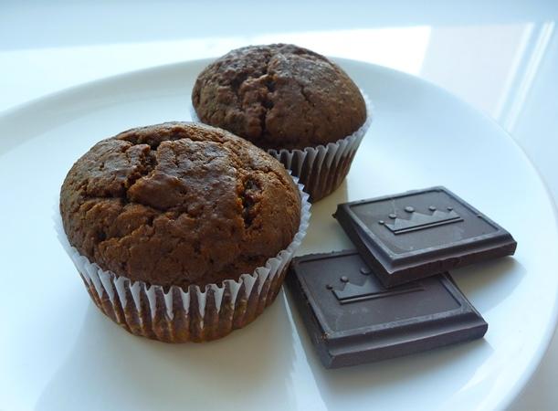 Маффины с шоколадом: рецепт