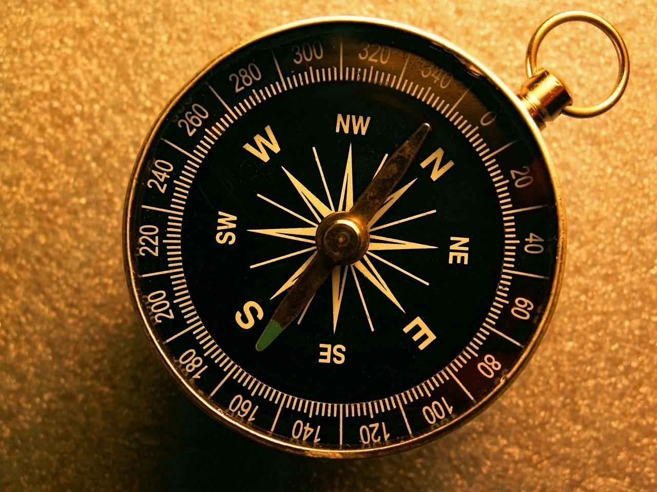 Как пользоваться компасом?