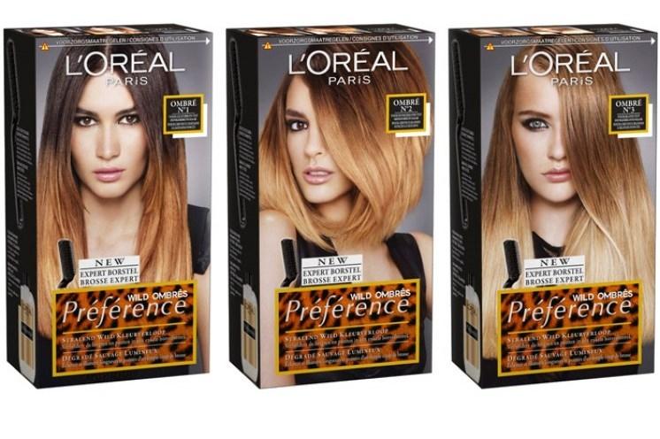 Краска для волос балаяж в домашних условиях